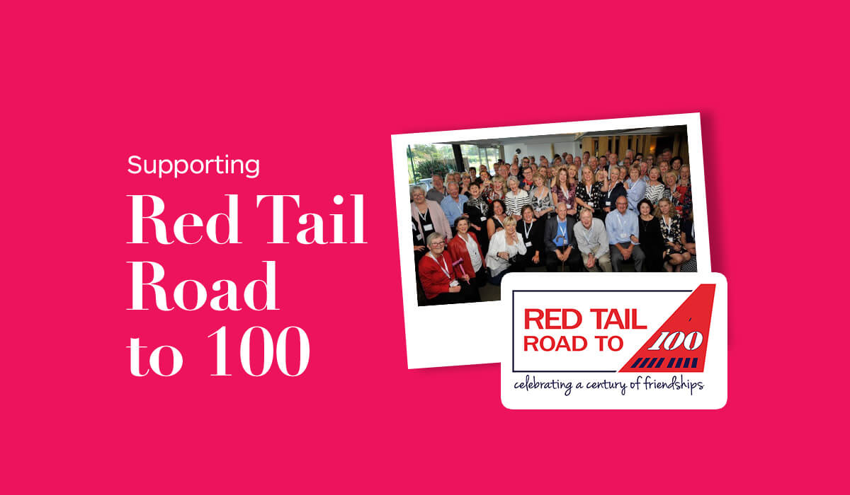 Supporting Red Tail Road to 100
