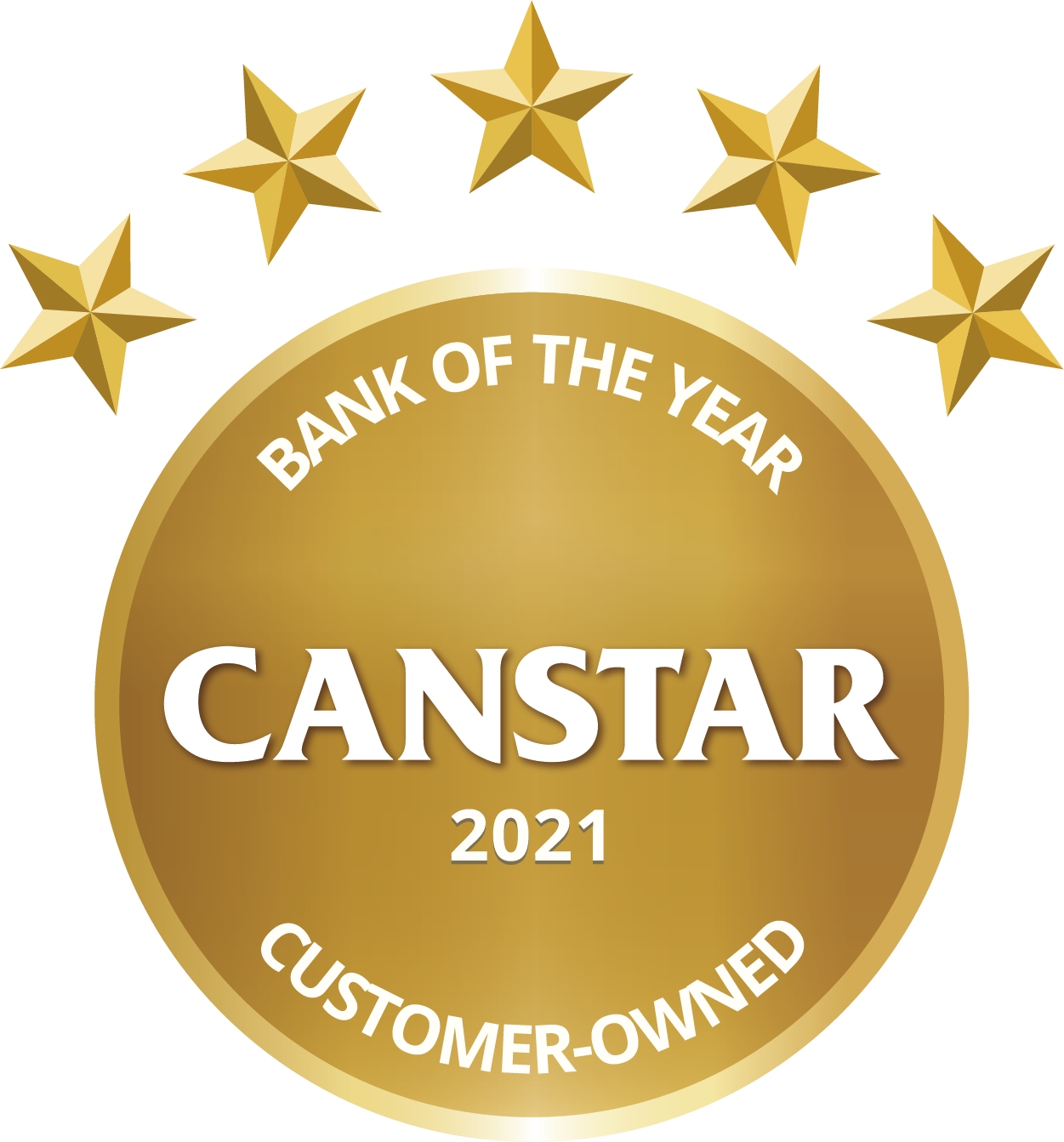Canstar Customer-Owned Bank of The Year 2021