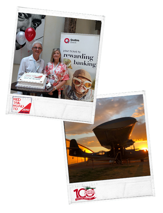 Red Tail Road to 100 and Qantas Founders Museum