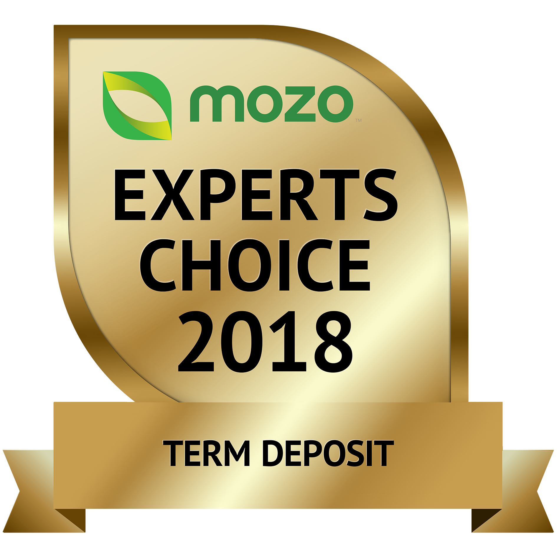Term Deposit Mozo Award