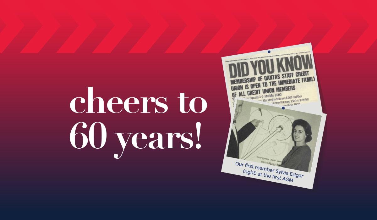Qudos Bank 60 years