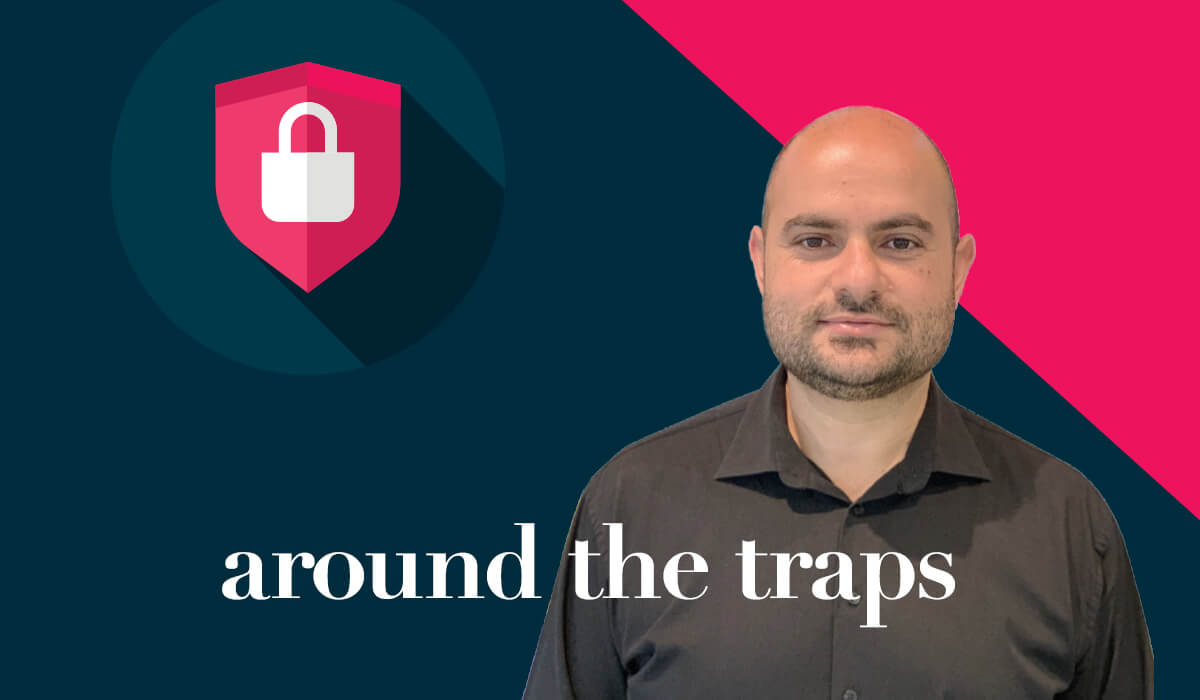 around the traps