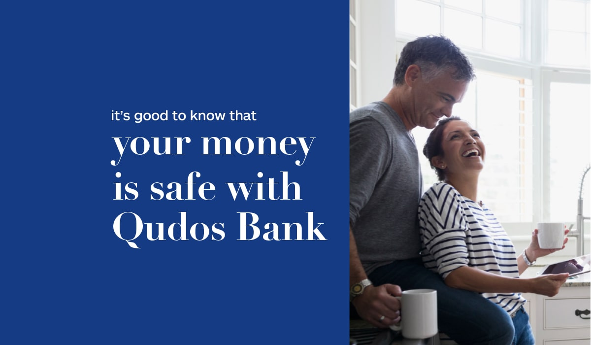 your money is safe with Qudos Bank