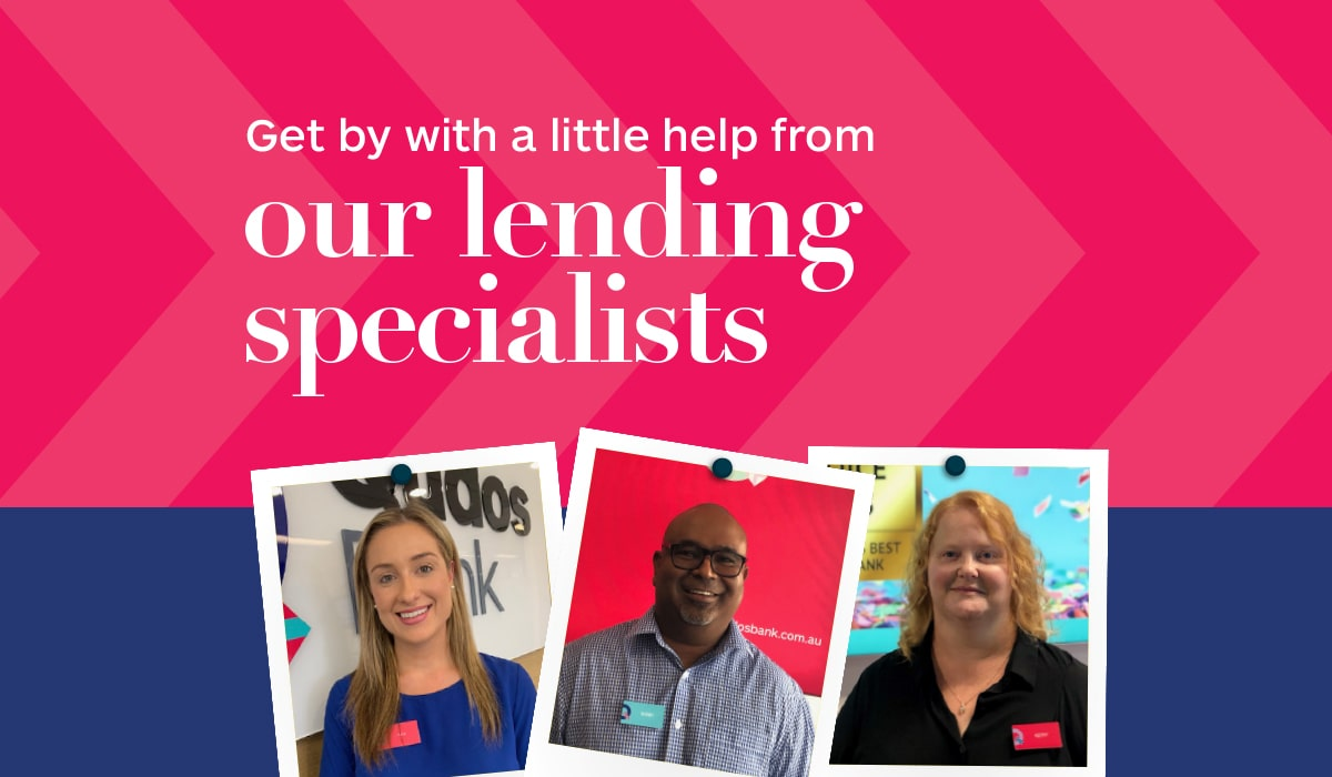 Meet our Lending Specialists