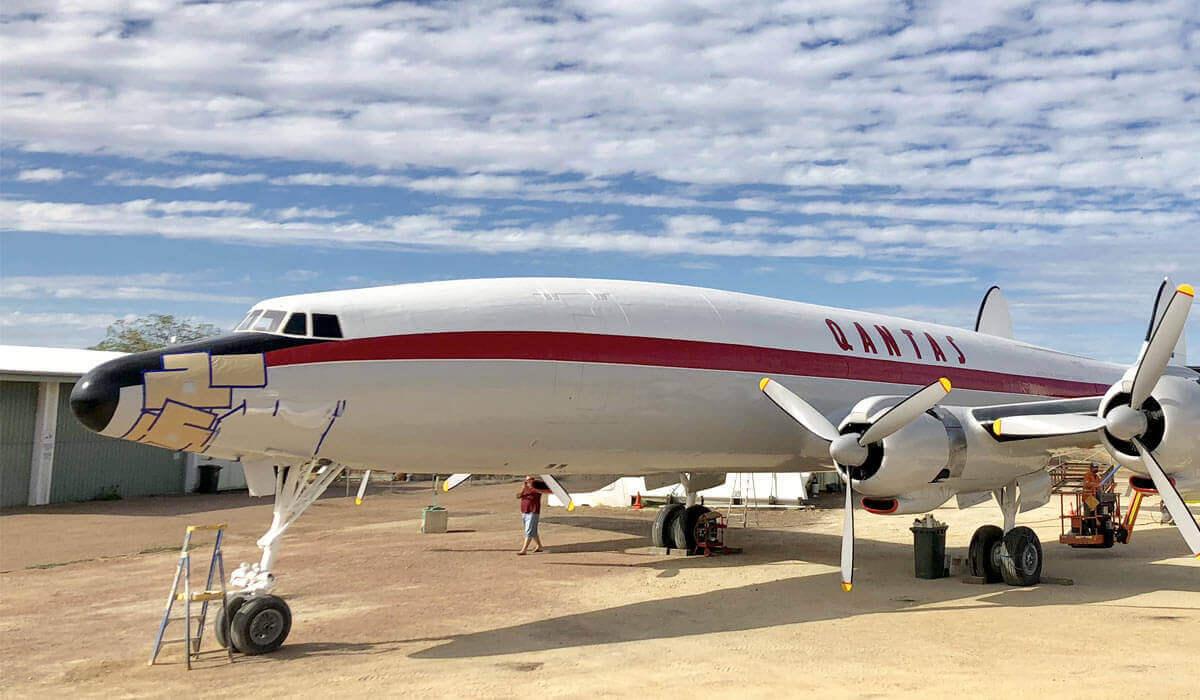 Celebrating 100 years of Qantas