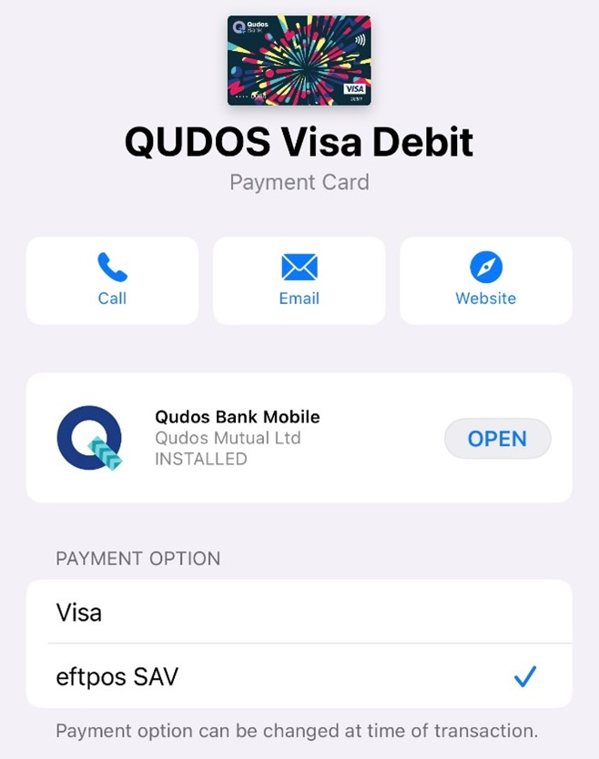 Adding Your Card To Apple Pay