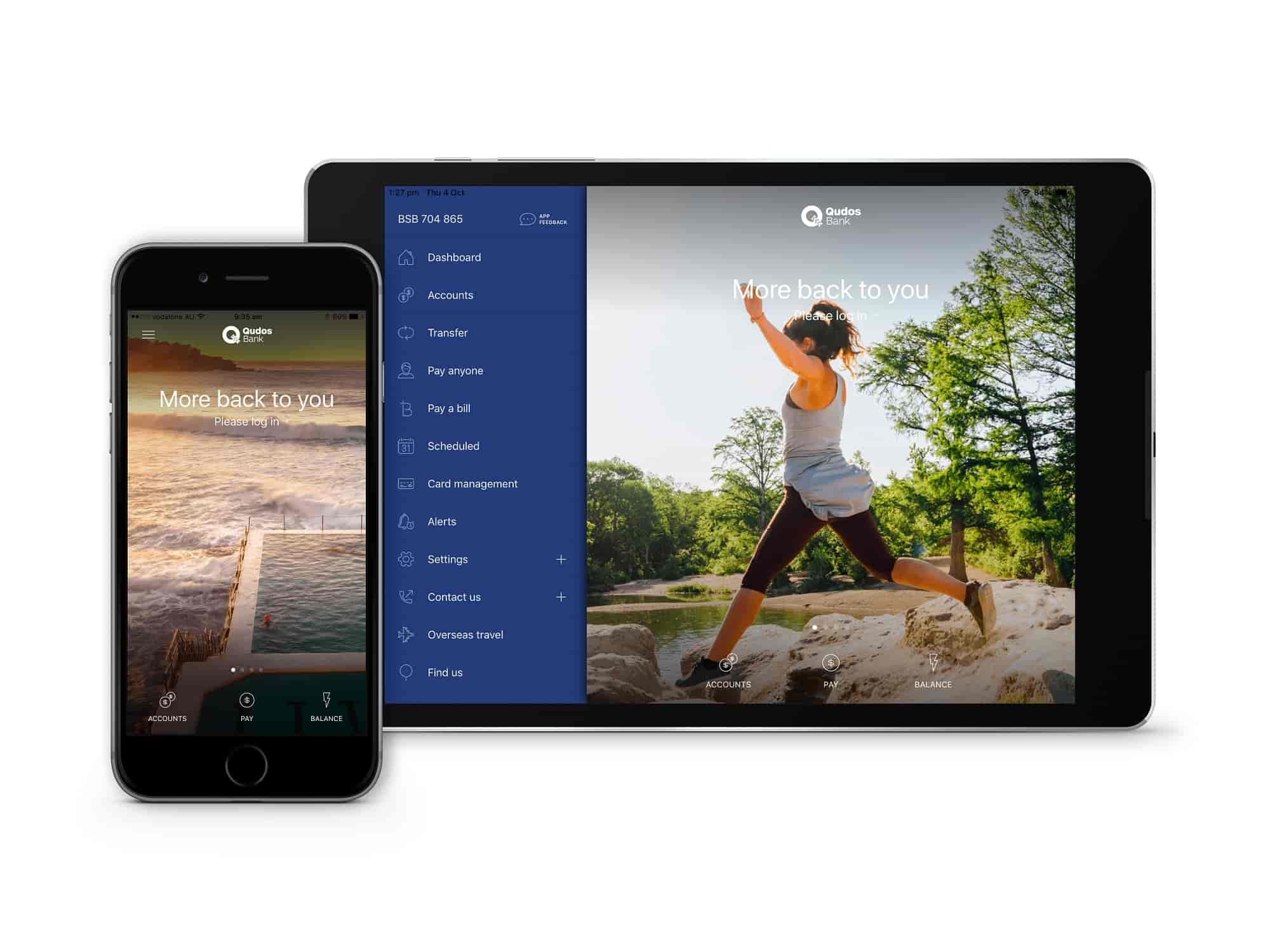 Qudos Bank App - Qudos Bank