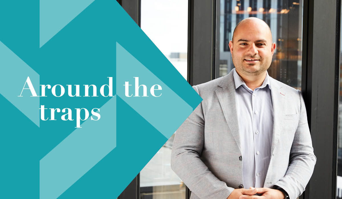 Around the Traps with Antar
