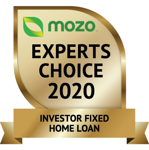 Mozo Experts Choice 2020 - Investor Fixed Home Loan