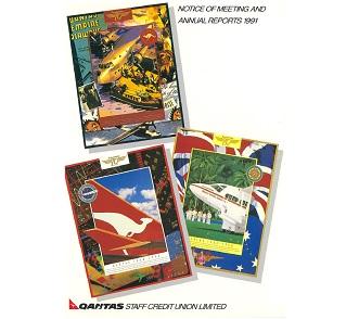 qantas-credit-union-annual-report-1991